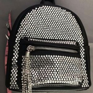 Aldo Bags - Aldo Rhinestone Black mini backpack crossbody